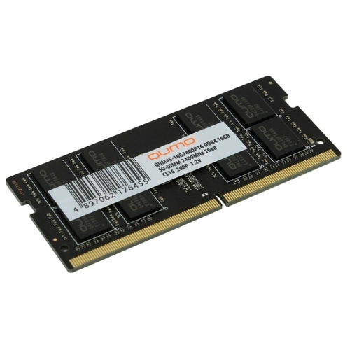 Память SO-DDR4 8Gb 2400MHz Qumo CL16 (QUM4S-8G2400P16) 1.2V