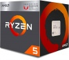 Процессор AMD AM4 Ryzen 5 2400G Raven Ridge (4x3.6-3.9GHz/2+4Mb/Vega11/14nm/65W) BOX (YD2400C5FBBOX)