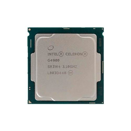 Процессор 1151v2 Intel Celeron G4900 Coffee Lake (2C/2T/3.1GHz/0.5+2Mb/Intel UHD610/14nm/51W) OEM