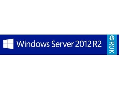 ПО Windows Server 2012 R2 Foundation Edition x64, ROK DVD for 1 CPU Only, HP (748920-421)